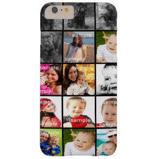 名前入りなコラージュはあなた専有物を作成します BARELY THERE iPhone 6 PLUS ケース