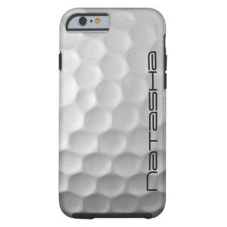 名前入りなゴルフ・ボールのiPhone6ケース ケース