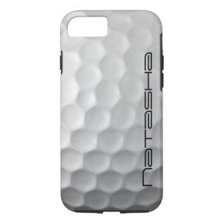 名前入りなゴルフ・ボールのiPhone 7の場合 iPhone 7ケース