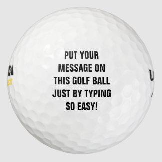 名前入りなゴルフ・ボール ゴルフボール