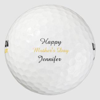 名前入りなゴルフ・ボール、母の日 ゴルフボール