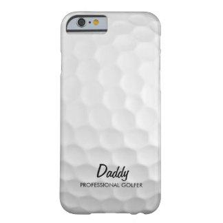 名前入りなゴルフ・ボール BARELY THERE iPhone 6 ケース
