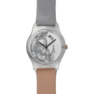 名前入りなサイ 腕時計