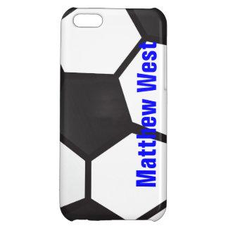 名前入りなサッカーボールのiPhoneの場合 iPhone 5C カバー