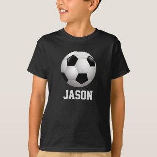 名前入りなサッカーボール Tシャツ