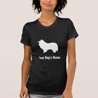 名前入りなシェットランド・シープドッグのシェットランドの・のシープドッグ Tシャツ