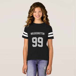 名前入りなジャージー Tシャツ