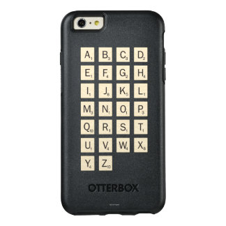 名前入りなスクラブル オッターボックスiPhone 6/6S PLUSケース