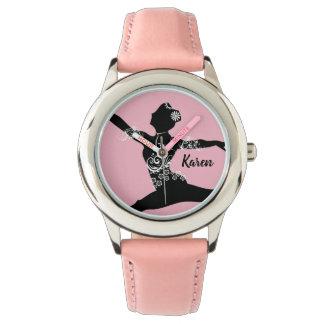 名前入りなダンサーの腕時計 腕時計