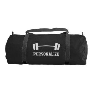 名前入りなダンベルの重量挙げのduffleの体育館のバッグ ジムバッグ