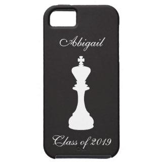 名前入りなチェスの卒業のiPhone 5の場合 iPhone SE/5/5s ケース
