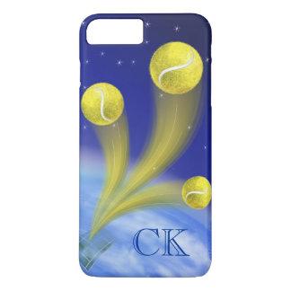 名前入りなテニスの勝利 iPhone 8 PLUS/7 PLUSケース