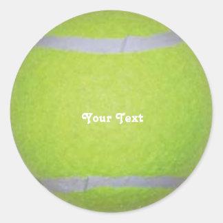 名前入りなテニス・ボール ラウンドシール