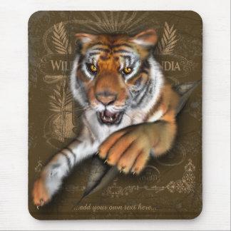 名前入りなトラについて野生 マウスパッド
