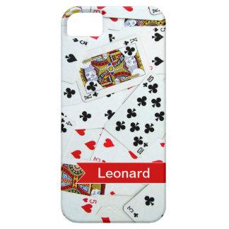 名前入りなトランプトランプゲームのiphoneカバー iPhone SE/5/5s ケース