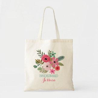 名前入りなトートバックの花のbohoの戦闘状況表示板 トートバッグ