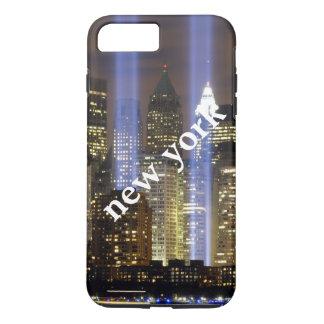 名前入りなニューヨークシティ iPhone 8 PLUS/7 PLUSケース