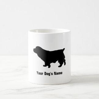 名前入りなノーフォークテリアのノーフォークの・のテリア コーヒーマグカップ