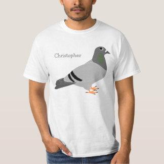 名前入りなハト Tシャツ