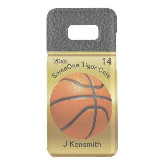 名前入りなバスケットボールのチャンピオンリーグデザイン ケース