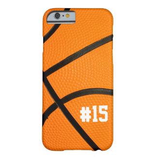 名前入りなバスケットボールの質# iPhone6ケース Barely There iPhone 6 ケース