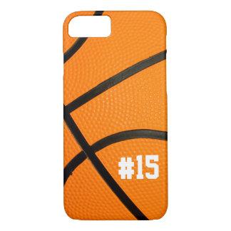 名前入りなバスケットボールの質# iPhone 7の場合 iPhone 8/7ケース
