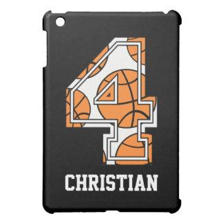 名前入りなバスケットボール第4 iPad MINI カバー