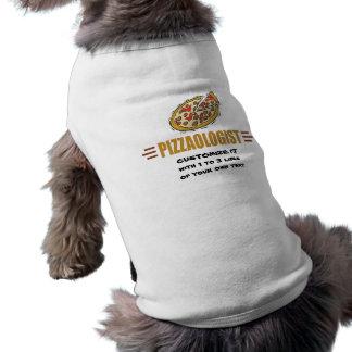 名前入りなピザ ペット服