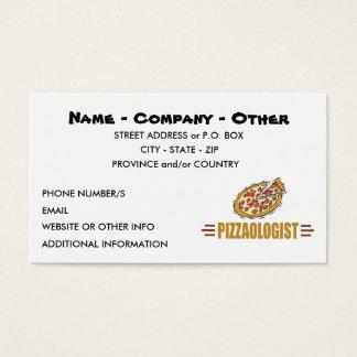 名前入りなピザ 名刺