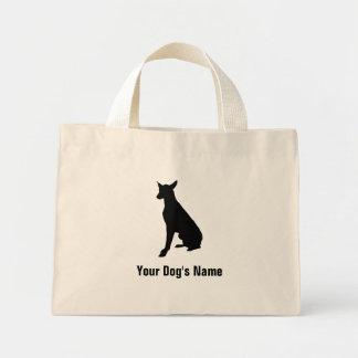 名前入りなファラオの猟犬のファラオの・のハウンド ミニトートバッグ
