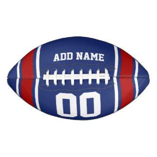 名前入りなフットボールジャージーBlue|Red アメリカンフットボール