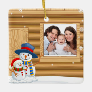 Personalized Baby's Christmas Photo Ornament