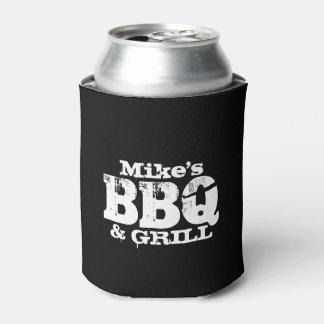 名前入りなボトルはBBQのパーティのためのクーラーでき、 缶クーラー