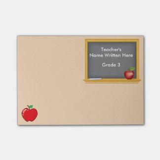 名前入りなポスト・イット-黒板およびApple ポストイット