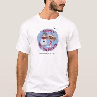 名前入りなマーフィーの北極ネットワークのTシャツ Tシャツ