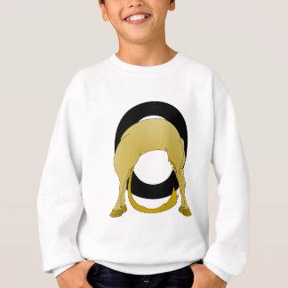 名前入りなモノグラムOの適用範囲が広い子馬 スウェットシャツ