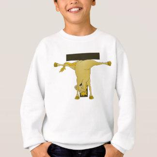 名前入りなモノグラムTの子馬の馬 スウェットシャツ