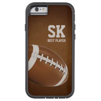 名前入りなラグビー|のアメリカン・フットボールのスポーツのギフト TOUGH XTREME iPhone 6 ケース