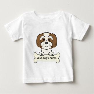 名前入りなラサApso ベビーTシャツ