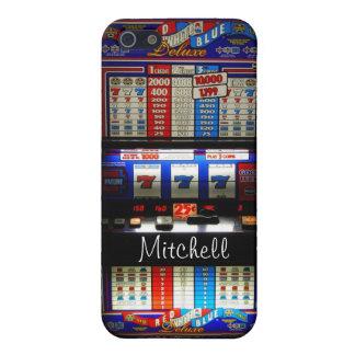 名前入りなラスベガスのカジノスロットMachin iPhone SE/5/5sケース
