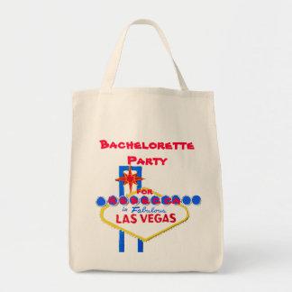名前入りなラスベガスのバチェロレッテ トートバッグ