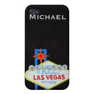 名前入りなラスベガス iPhone 4/4Sケース