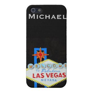 名前入りなラスベガス iPhone SE/5/5sケース