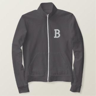 名前入りなレトロの学校代表の学生スポーツ優秀選手トラックジャケット 刺繍入りジャケット