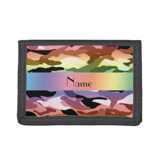 名前入りな一流の虹のカムフラージュ