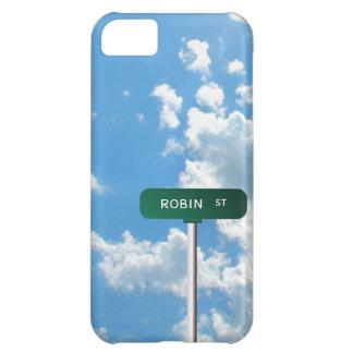 名前入りな一流の道路標識 (ST) iPhone5Cケース