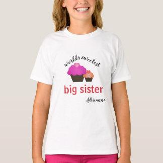 名前入りな世界で最も甘い姉 Tシャツ