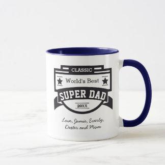 名前入りな世界のベストによってすごいパパ マグカップ