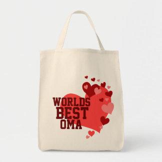 名前入りな世界最も最高のなOma トートバッグ