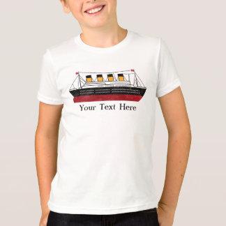 名前入りな乗客の汽船は信号器T-Shiをからかいます Tシャツ